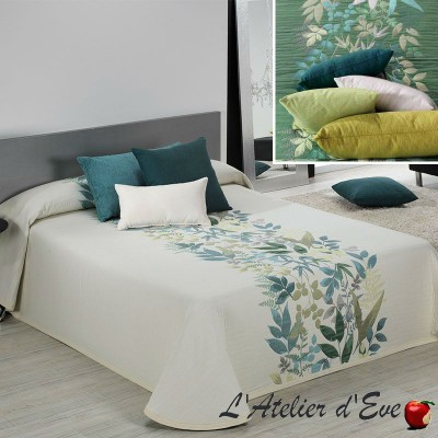 Tobago (3 sizes) Floral pattern jacquard cover C.09 Reig Marti