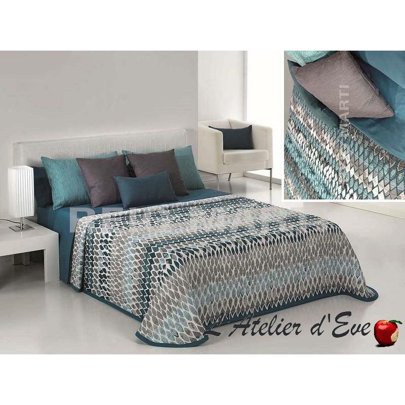 couvre lit r versible imprim animal newman reig marti. Black Bedroom Furniture Sets. Home Design Ideas