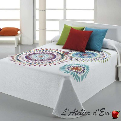 Bohopi, couvre-lit cercles multicolores C.07 Reig Marti