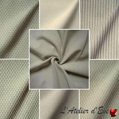 Intemporel, tissu ameublement coton jacquard pour siège Thevenon