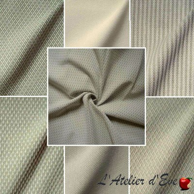 Timeless (7 patterns) Jacquard furnishing fabric L.140cm Thevenon