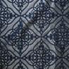 Salina Jacquard fabric black furnishing and seat Thevenon