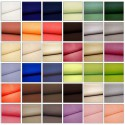 Antibes (55 colours) outdoor solid canvas treated teflon for seats L.152cm Casal