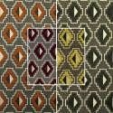 """Place of Vosges"" fabric jacquard furnishing Thévenon"
