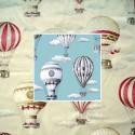 En l'air (2 coloris) Toile de coton irretrex ameublement et siège Thevenon