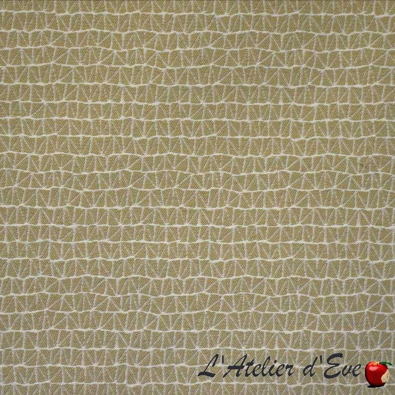 Zoom beige: Tissu ameublement et siège graphique Casal