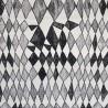 Cartoon: Toile coton fantaisie noir et blanc ameublement et siège Casal