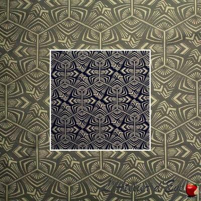 West (2 colors) fabric furniture graphic jacquard Thévenon