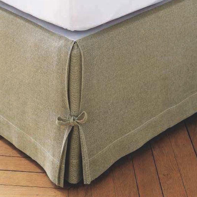 couvre sommier lit blanc x belle cache sommier housse. Black Bedroom Furniture Sets. Home Design Ideas