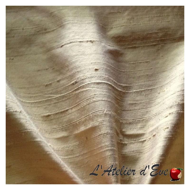 Soie sauvage sahara Tissu ameublement 100% soie