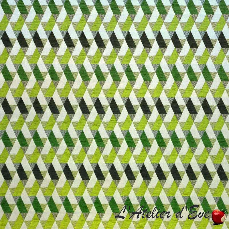 Kappa prairies: Tissu ameublement jacquard chenille pour siège et tapissier au mètre de Casal