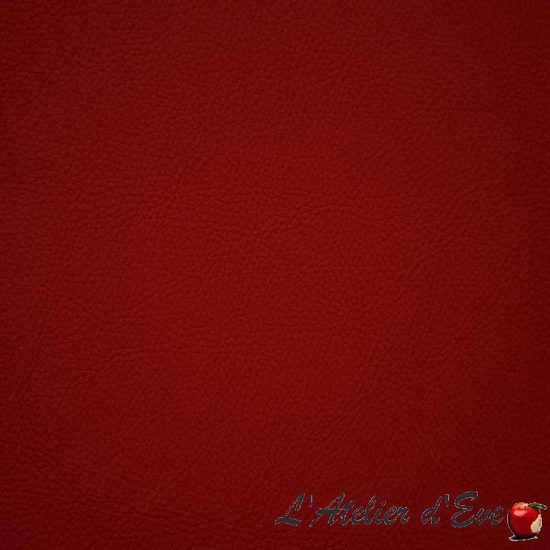 Wayne rubis : Tissu ameublement simili cuir Casal