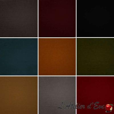 Cooper : Tissu pour siège et tapissier simili cuir Casal
