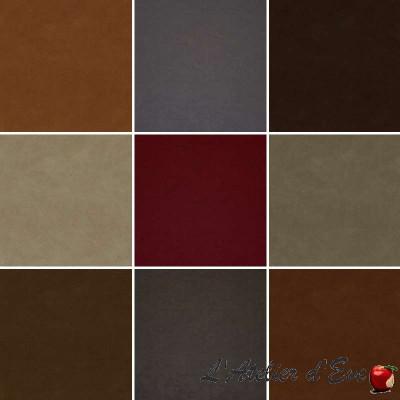 Fonda : Tissu siège simili cuir stretch pour tapissier Casal