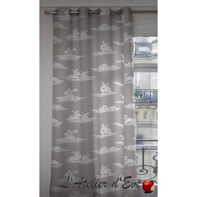Lapinoux curtain cotton child Thévenon