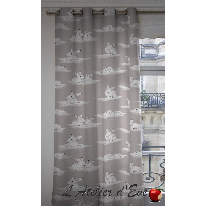 Lapinoux curtain cotton child Thévenon