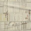 La Grande Bibliotheque Rideau a oeillet pret a poser bachette coton fond creme 1399601A polo le rideau