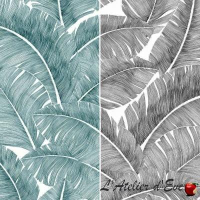 Grossiste tissu non feu M1: Rouleau toile de coton Totem