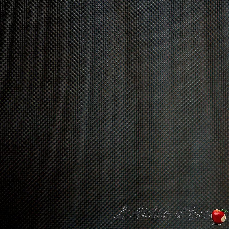 Rideau non feu M1, tissu store Loft noir Thevenon