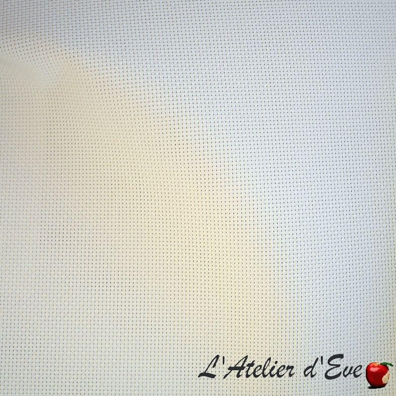 Magasin de tissus, grossiste tissu non feu M1 Loft blanc de Thevenon