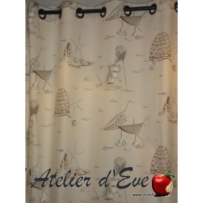 """""""Paris Brest"""" curtain cotton Thévenon"""