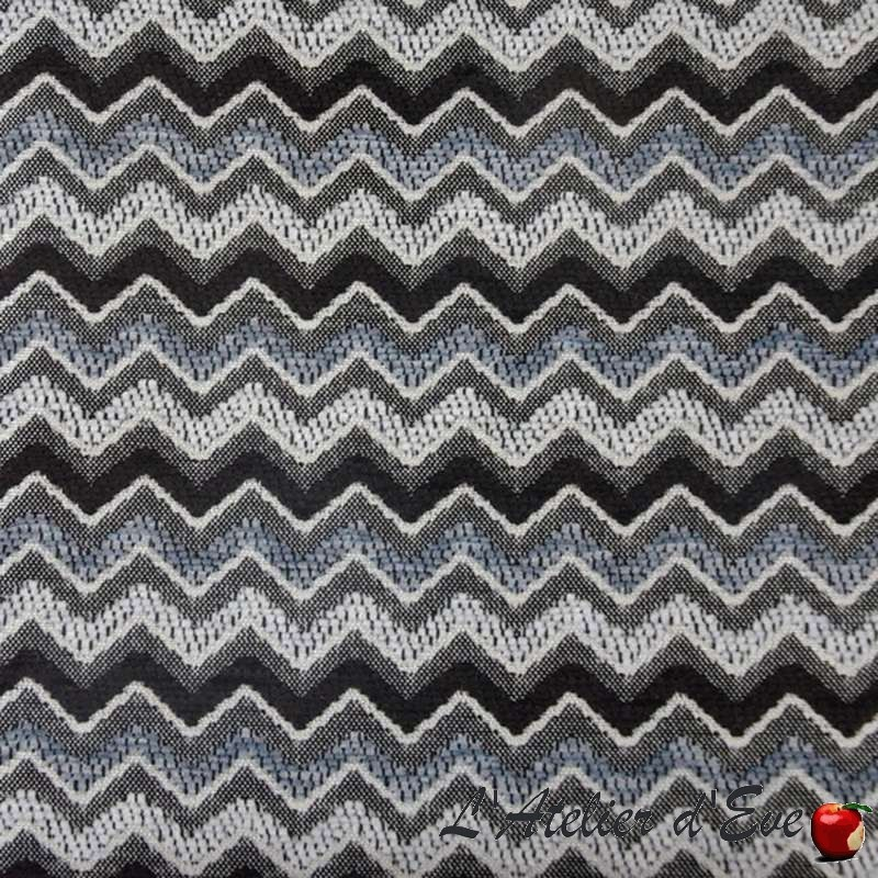 Renzo 3 colors Fabric upholstery jacquard chenille Thevenon