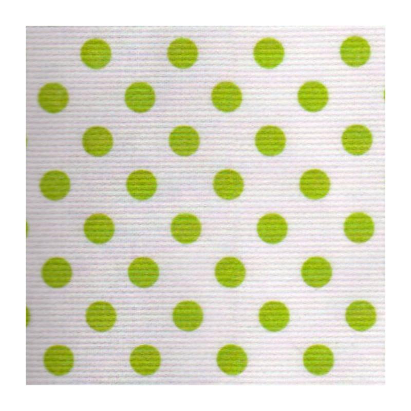 Piqué de coton - Tissus habillement à pois L.150cm