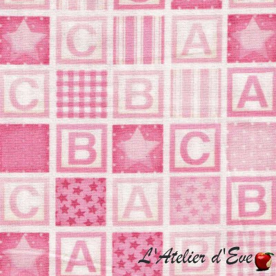 Coupon 45x110cm Tissu patchwork coton