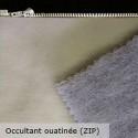 """""""Doublure universelle"""" non feu M1 occultante ouatinée avec zip Thevenon"""