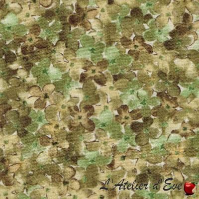 Coupon 40x110cm Tissu patchwork coton 23170h