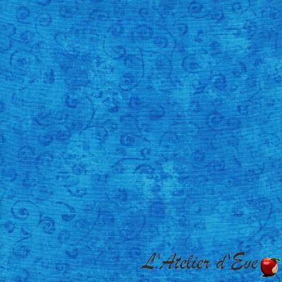 Coupon 100x110cm Tissu patchwork coton 22542B