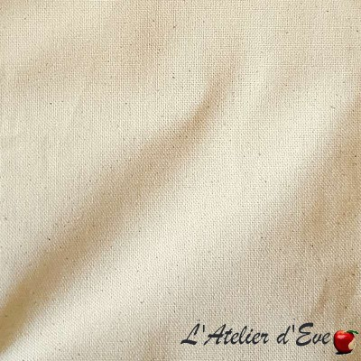"""White Bachette"" discount 30% cotton roll wide Thévenon room/half room"