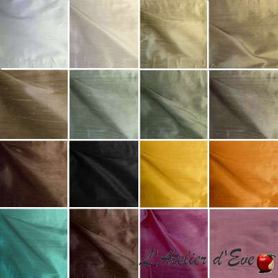Imperial (22 colors) curtain grommet silk ready to ask Thévenon