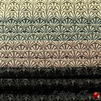 """""""Magnifique"""" Tissu jacquard graphique Thevenon"""