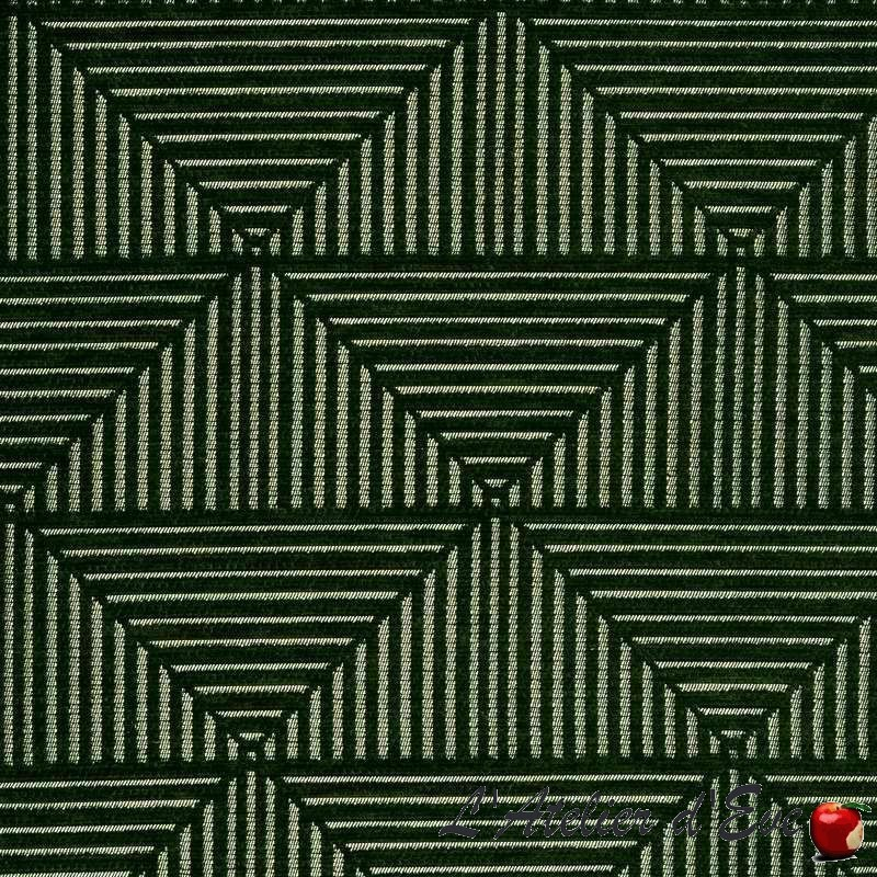 L'Atelier d'Eve, grossiste tissus en ligne Floyd vert de Thevenon Paris