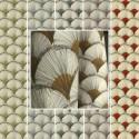 """""""Papyrus"""" Remise 30% Rouleau tissu coton grande largeur Thevenon"""