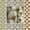 "Evedeco.com, grossiste tissus en ligne tissu 100% coton ""Papyrus"" de Thevenon"