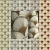 """Papyrus"" Tissu coton imprimé africain Thevenon"