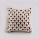 """Papyrus"" cotton Cushion and pillowcase Thevenon"