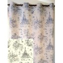In The Land of Wonders Curtain Thevenon canvas cotton toy