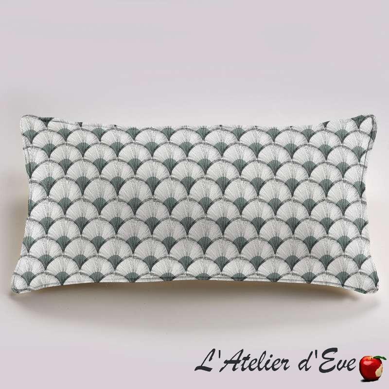 """Papyrus"" cotton Cushion 60x30cm Thevenon"