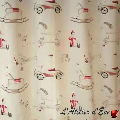 Pinocchio child fabric great width furnishing cotton Thévenon