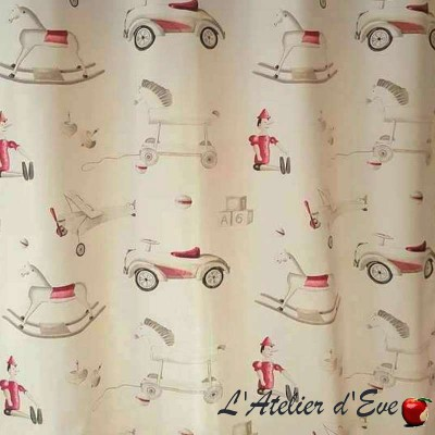 Pinocchio discount 30% fabric roll child furniture Thévenon room/half room