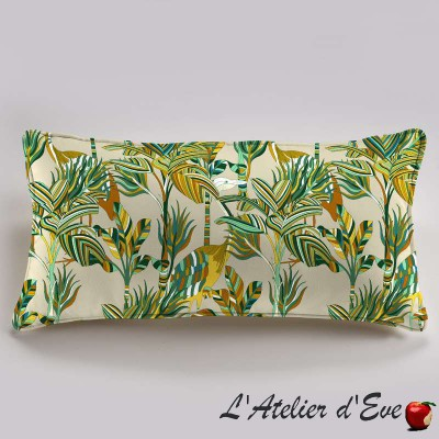 """Florida"" cushion cotton 60x30cm Thévenon"