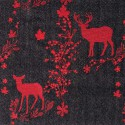 """""""Forest friends"""" Rideau Made in France jacquard Thevenon"""