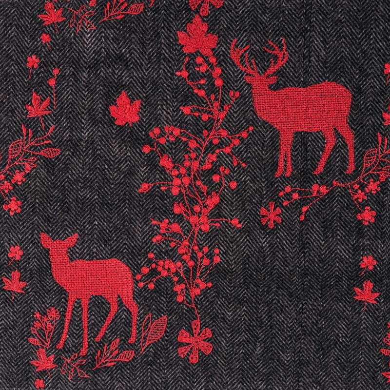 christmas fabric cotton craft fat quarter bundle red mix. Black Bedroom Furniture Sets. Home Design Ideas