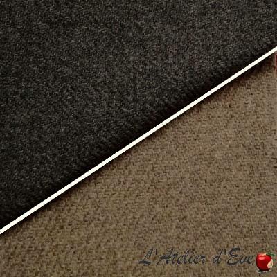 """""""Laine"""" Tissu laine uni ameublement tenture et habillement Thevenon"""