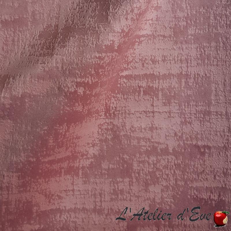 """""""Milano"""" rose ancien Tissu ameublement velours Thevenon"""