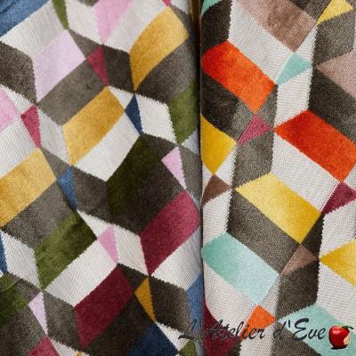"""""""Superbo"""" Velvet upholstery fabric Thevenon"""