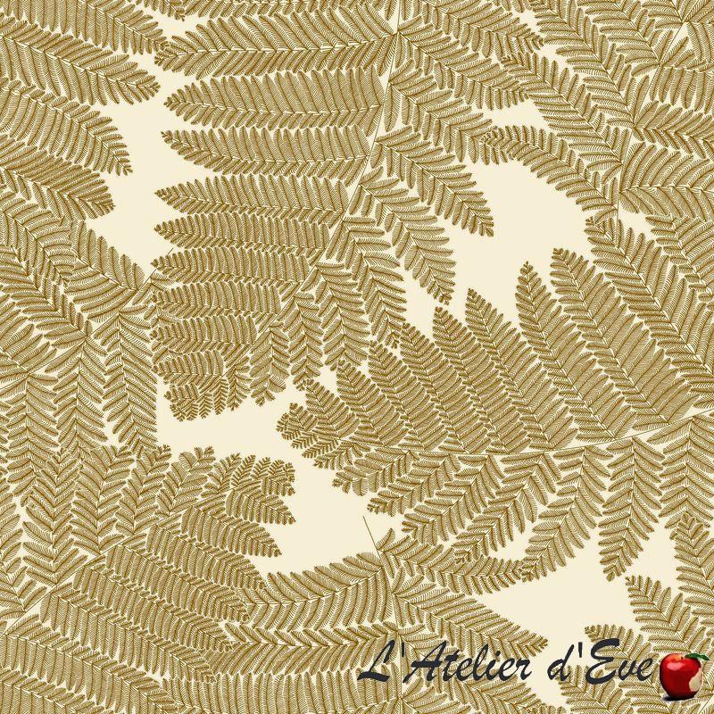 034-Wood-034-Tissu-ameublement-coton-grande-largeur-Thevenon